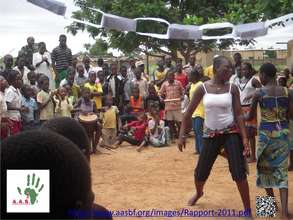 Dance des OEV du centre OASIS 1