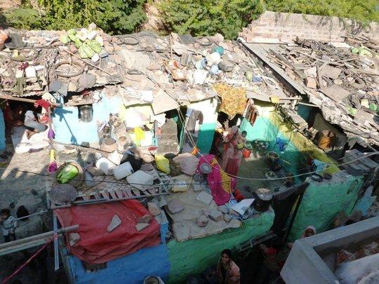 Ratanada slum area of Jodhpur