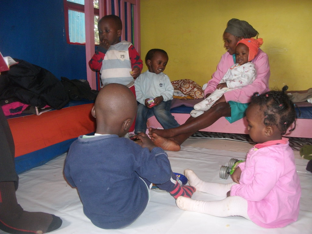 Safe babycare for single mums in the Nairobi slums