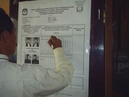 Voter Education and Monitoring Governor Election
