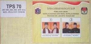 Jakarta Governor Election 2007