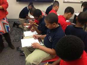 NFTE students at Howard Middle School