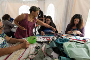 NACELE 2015 participants create collaborative art