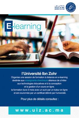 E-learning Program at Ibn Zohr University, Agadir