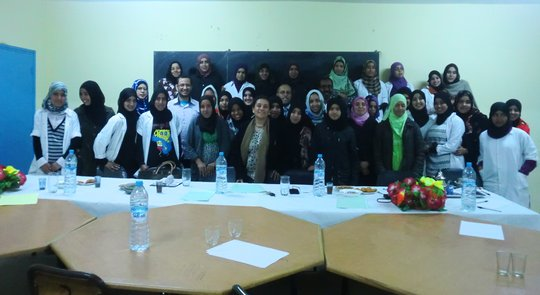 Boarding School Students and Dar Si Hmad in Mesti