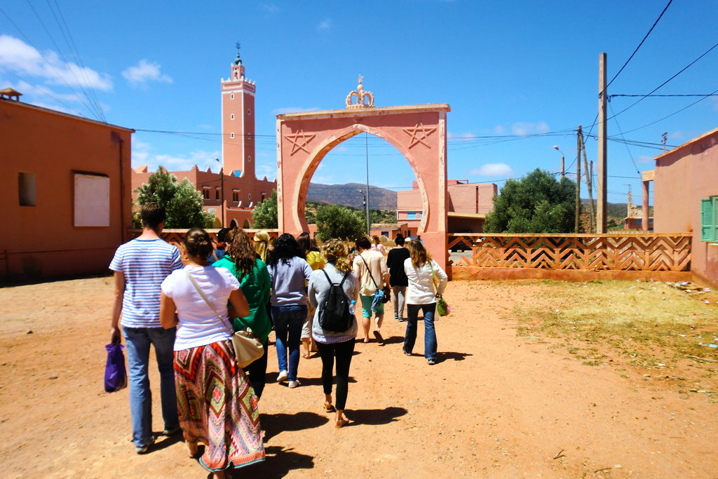 E-learning Education for Rural Girls in Morocco