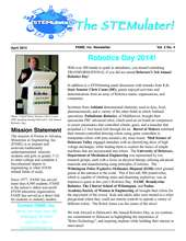 The STEMulater! - April edition (PDF)