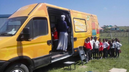 The Wellness Wagon provides mobile healthcare