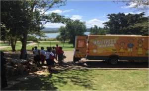 Providing HIV and TB testing in our mobile clinic
