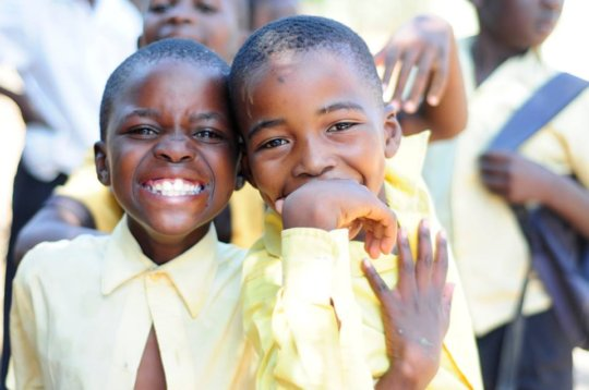 Donate to bring smiles to children in South Africa