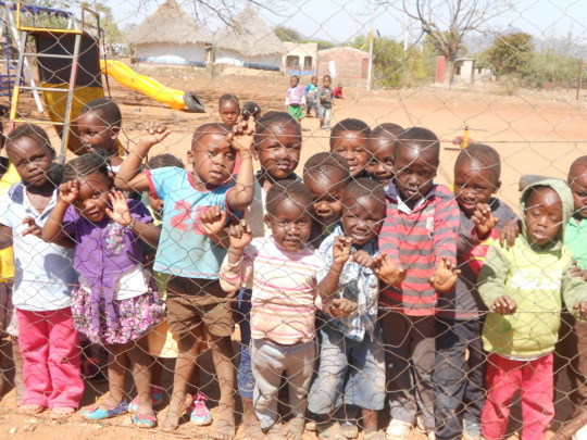 Bringing smiles to the faces of needy children