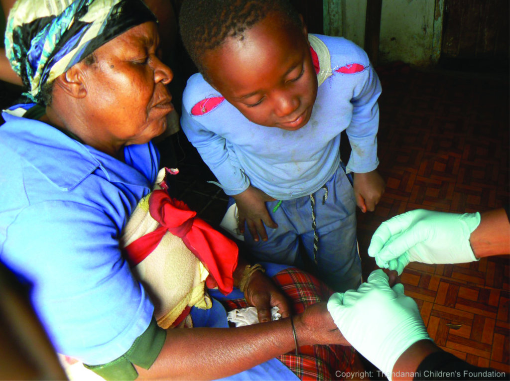 Testing for HIV, TB, malaria and diabetes