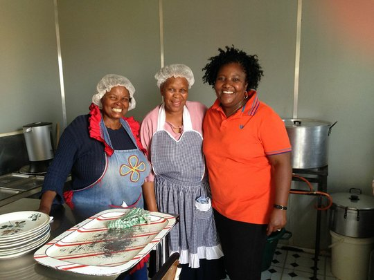 The fabulous women who cook hot meals for our kids
