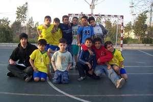 Boys football class