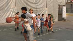 Sports for Lebanese Children Affected by Conflict