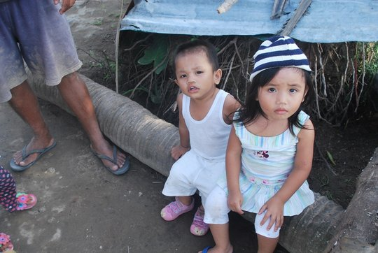 Kids in Leyte