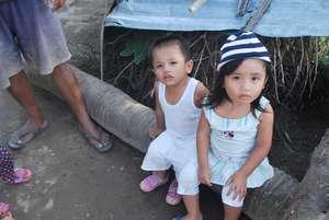 Kids in Leyte