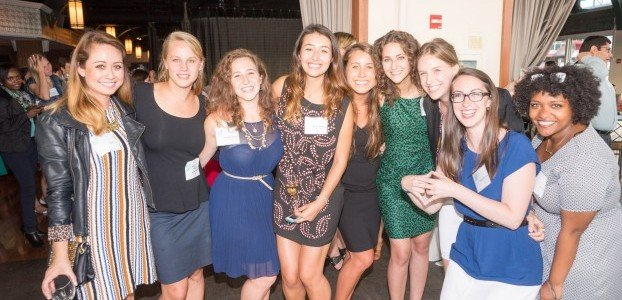 GlobeMed Alumni at the 2015 GHC Celebration in NYC