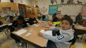Students Working Together