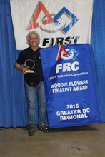 Woody Flowers Award - Mentor of the Year for DC