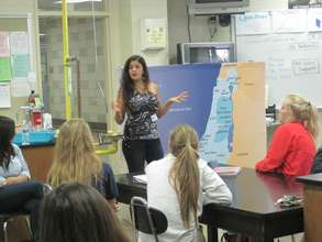 Young Leaders talk in schools