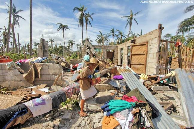 Adopt 10000 Haiyan-hit Farmer-Fisher-Families