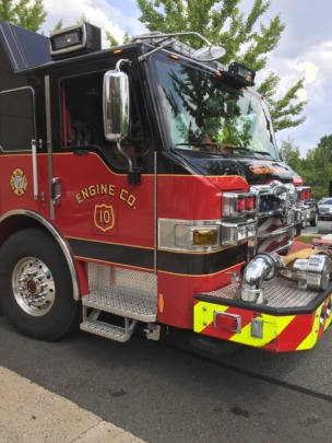 Charlottesville Fire arrives!