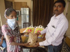 Nutrition packs given to patient