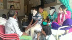 MDR TB Patients support group meeting