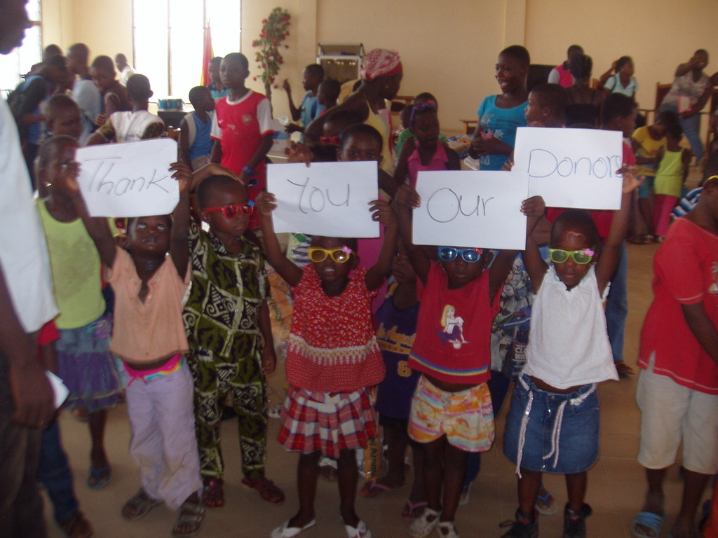 Thank you to our wonderful GlobalGiving donors!