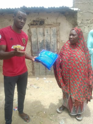 One of the beneficiaries with the ITNS