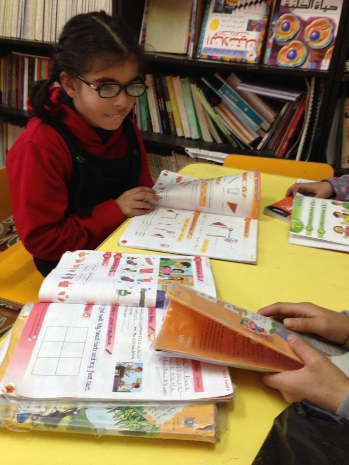 Group tutoring at Madaa Center