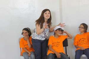 Storytelling at Jalazone Refugee Camp, West Bank