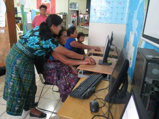 Artisan Women of Guatemala using technology