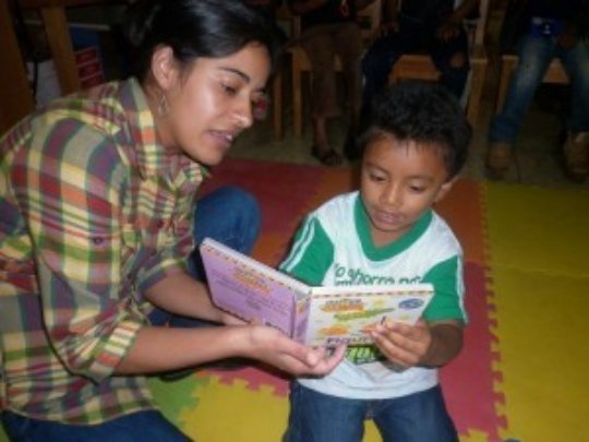 Our librarian girls change the children's life