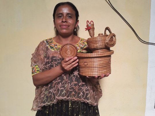 Entrepreneurial women in San Juan Chamelco