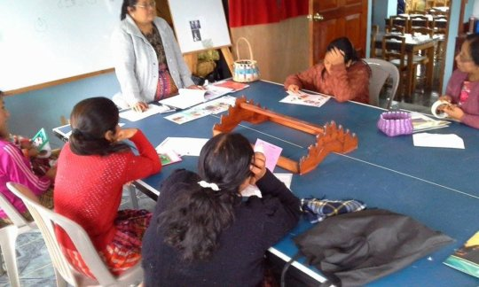 Women from San Juan Chamelco (Alta Verapaz)
