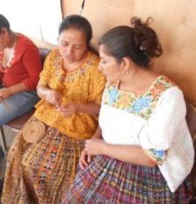 women benefited in San Juan Chamelco