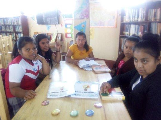 Girl Readers in San Juan Chamelco