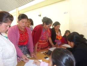 Group of Women in San Carlos Sija (Quetzaltenango)
