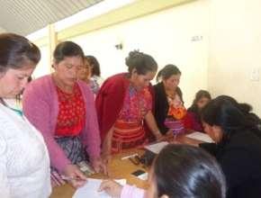 Group of Women in San Carlos Sija (Quetzaltenango)