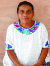 Victoria Caal, a Leader women of San Juan Chamelco