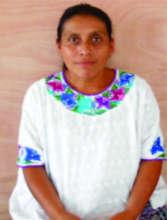 Victoria Caal, a Leader women of San Juan Chamelco