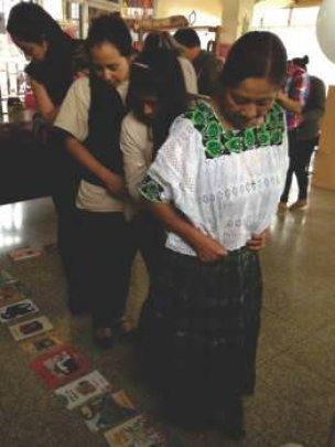 Women participates in Book process