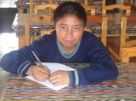 Domingo Garcia, Young participant in the Project