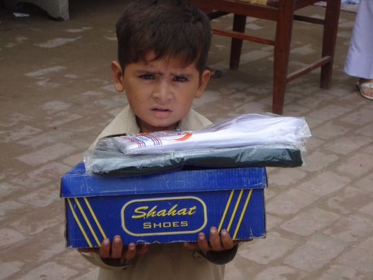 Distribution of School Uniform