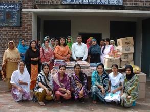 Distribution of Eid Gift Packs