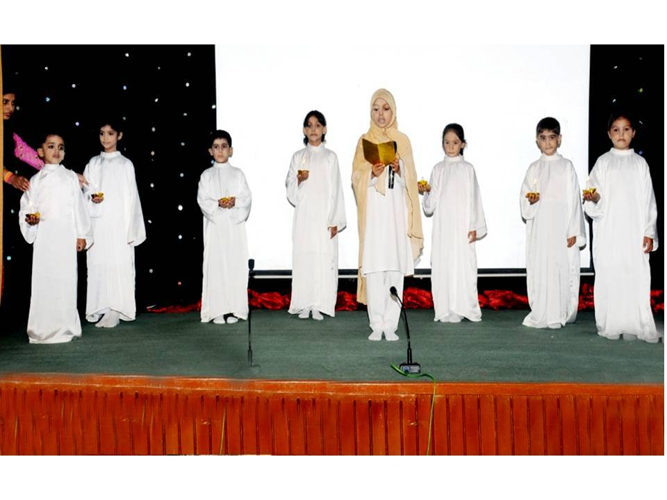 Children presenting Maa ki Dua (Mother