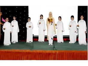 Children presenting Maa ki Dua (Mother's Prayer)