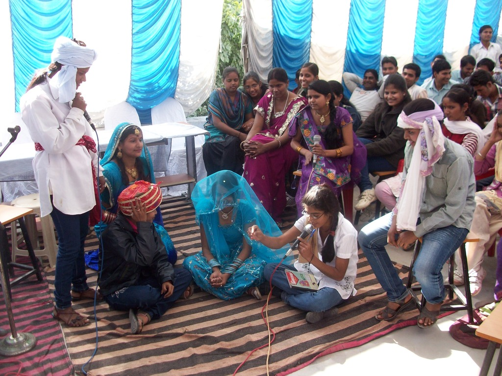 Theatre by iLEAD youth on women issues